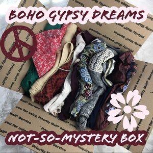 Mystery Box Theme: Boho Gypsy Dreams Hippie Style